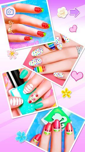 Nail Salon: Manicure Make Up Dress up Girl Games - عکس بازی موبایلی اندروید