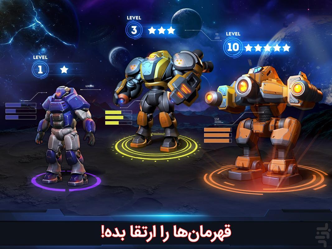 کلش فضایی - عکس بازی موبایلی اندروید