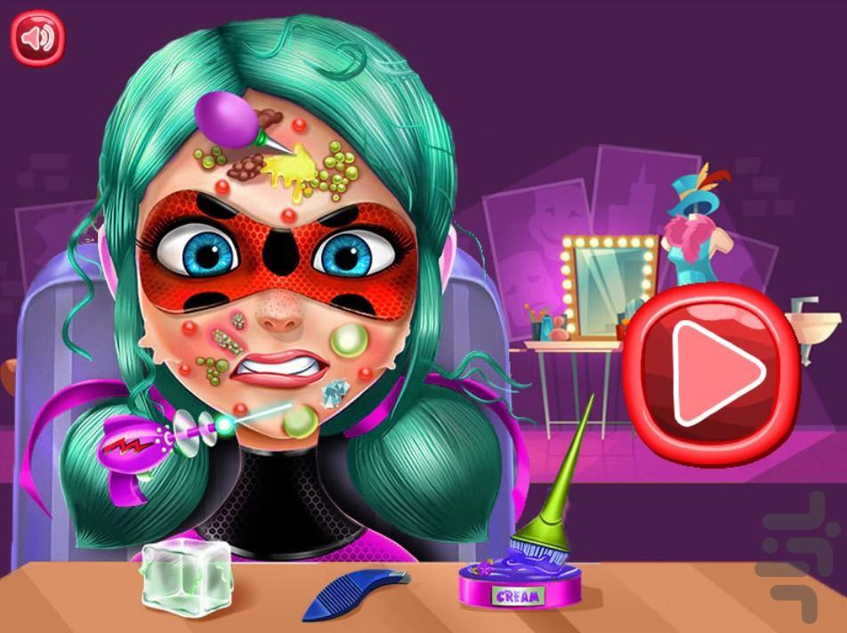 سالن زیبایی دختر کفشدوزکی - عکس بازی موبایلی اندروید