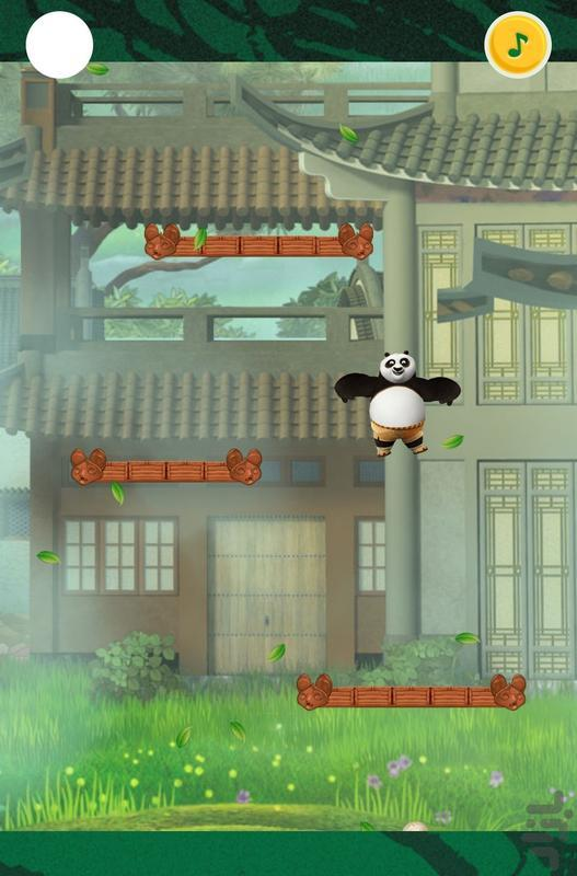 پاندای کونگ فو کار - عکس بازی موبایلی اندروید