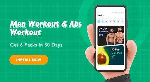 Home Workout for Men - Abs Workout - عکس برنامه موبایلی اندروید
