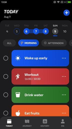 Habit Tracker App - HabitTracker - عکس برنامه موبایلی اندروید