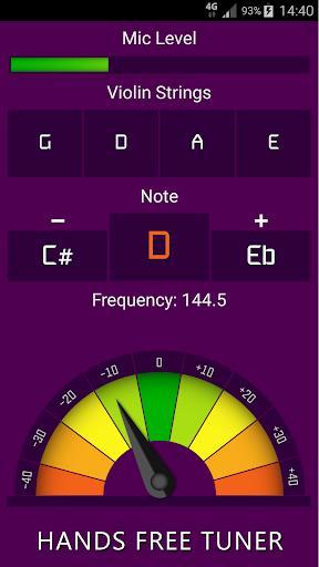 Violin Tuner Free - عکس برنامه موبایلی اندروید