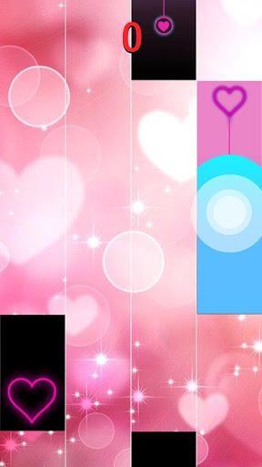 Heart Piano Tiles Pink - عکس بازی موبایلی اندروید