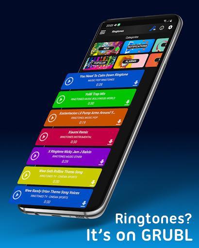 GRUBL™ Live Wallpapers 4D/HD & Ringtones - عکس برنامه موبایلی اندروید