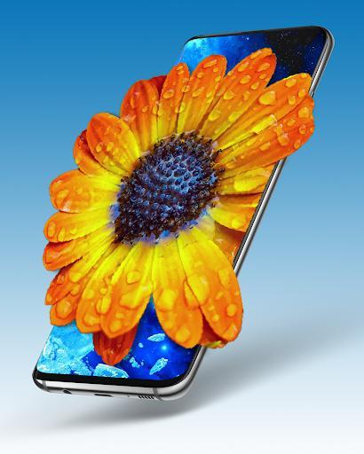 Pixel 4D – تصویر پسزمینهی سه بعدی - عکس برنامه موبایلی اندروید