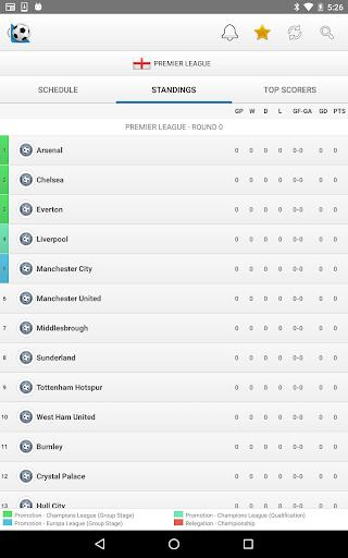 Football Live Scores - عکس برنامه موبایلی اندروید