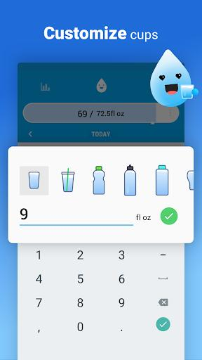 Drink Water Reminder - عکس برنامه موبایلی اندروید