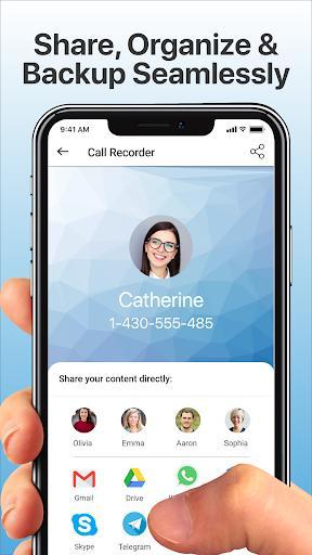 Call Recorder Automatic – ضبط مکالمه - عکس برنامه موبایلی اندروید