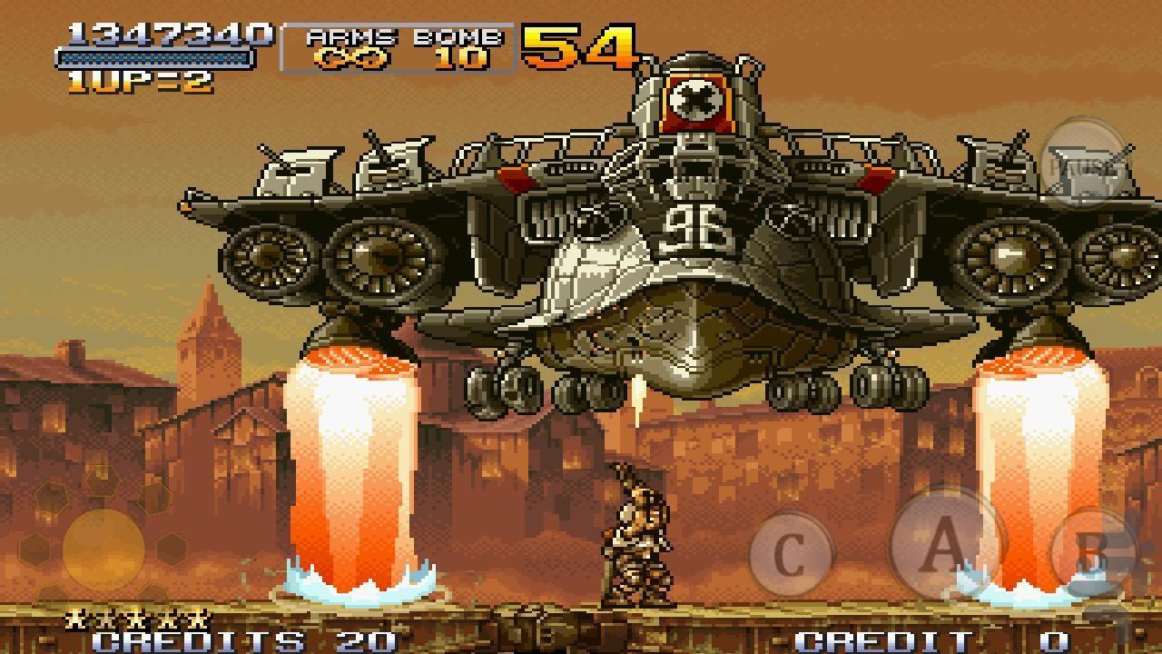 متال اسلاگ 2 (سرباز کوچولو2) - عکس بازی موبایلی اندروید