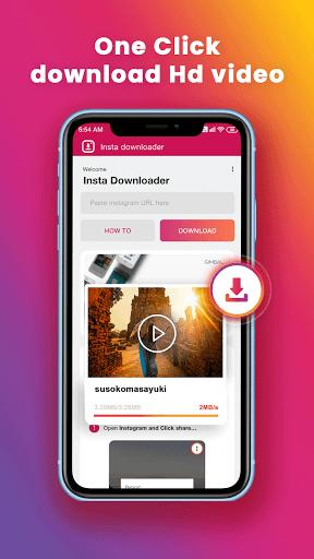 IG Story Downloader Repost – دانلود استوری اینستاگرام - عکس برنامه موبایلی اندروید