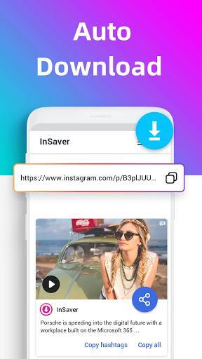 Video downloader for Instagram, Reels, Story Saver – دانلود ویدیو از اینستاگرام - عکس برنامه موبایلی اندروید