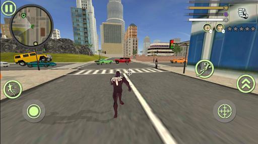 Neon Spider Rope Hero : Vice Town - عکس برنامه موبایلی اندروید