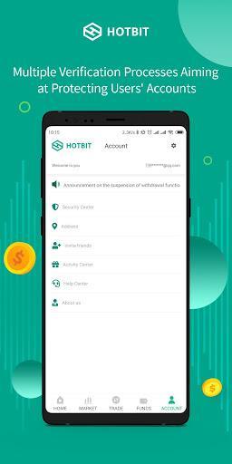 Hotbit - عکس برنامه موبایلی اندروید