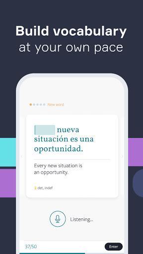 Lingvist زبان و کلمات - عکس برنامه موبایلی اندروید
