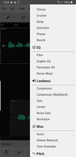 WaveEditor for Android™ Audio Recorder & Editor - عکس برنامه موبایلی اندروید