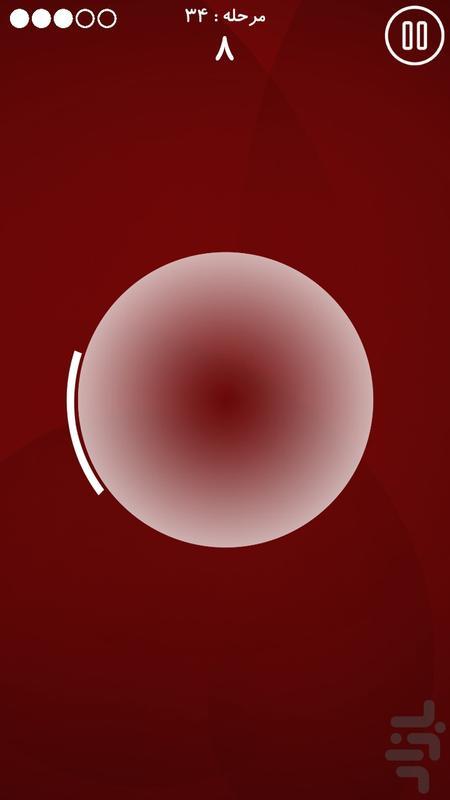 دایره - عکس بازی موبایلی اندروید