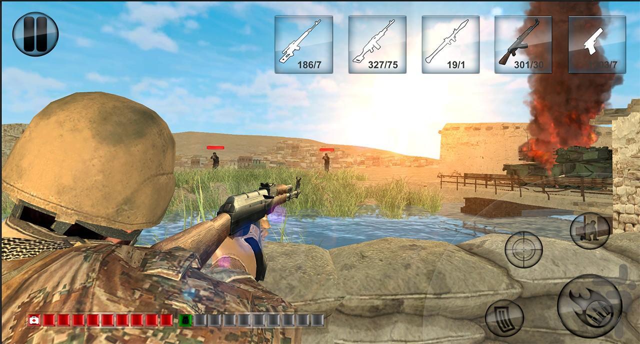 سربازان گمنام - عکس بازی موبایلی اندروید