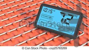 سیستم گرمایش از کف - عکس برنامه موبایلی اندروید