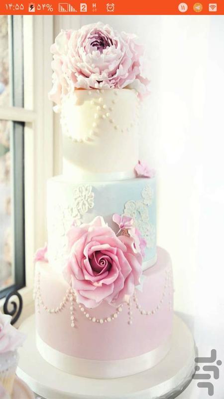 اموزش کیک و شیرینی خانگی - عکس برنامه موبایلی اندروید