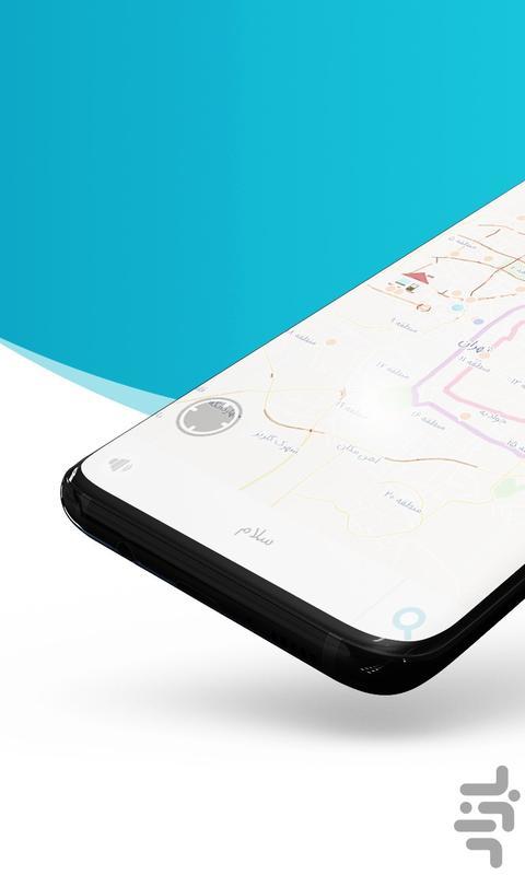 نقشه و مسیریاب دال - عکس برنامه موبایلی اندروید