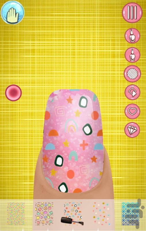 بازی سالن زیبایی ناخن - عکس برنامه موبایلی اندروید