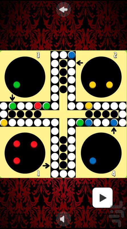 بازی منچ - عکس بازی موبایلی اندروید