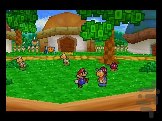 Paper Mario - عکس بازی موبایلی اندروید