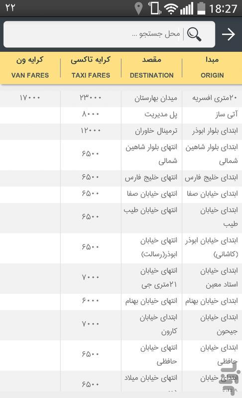 Rahyaab - Image screenshot of android app