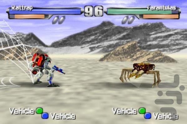 بازی تیکن ربات ها - عکس بازی موبایلی اندروید