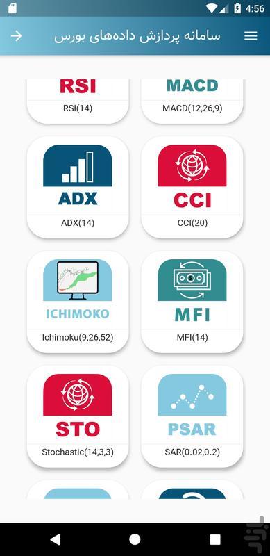 بورس پرداز - عکس برنامه موبایلی اندروید