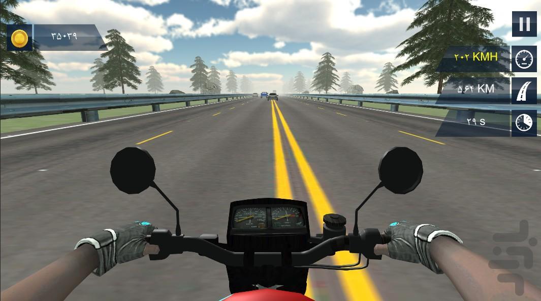 هوندا 125 - عکس بازی موبایلی اندروید