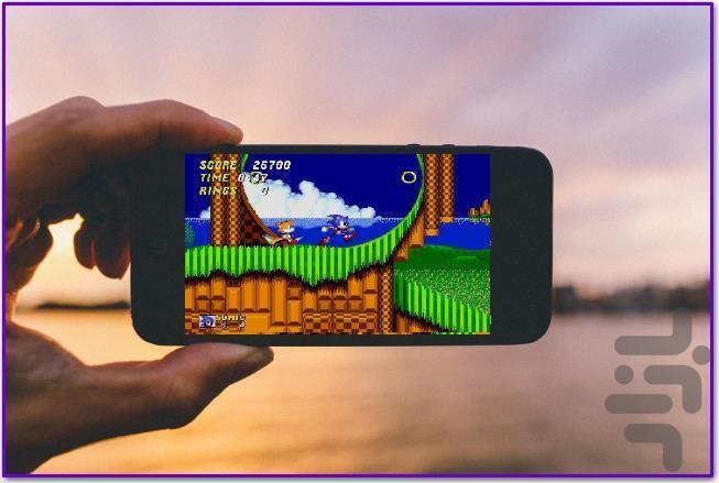 سونیک 2 - عکس بازی موبایلی اندروید