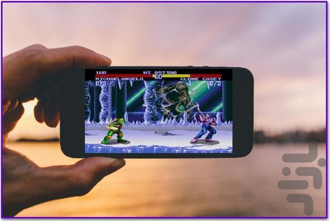 مبارزه لاک پشتها - عکس بازی موبایلی اندروید