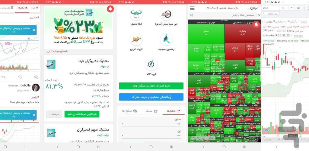 Sahamyab - Image screenshot of android app