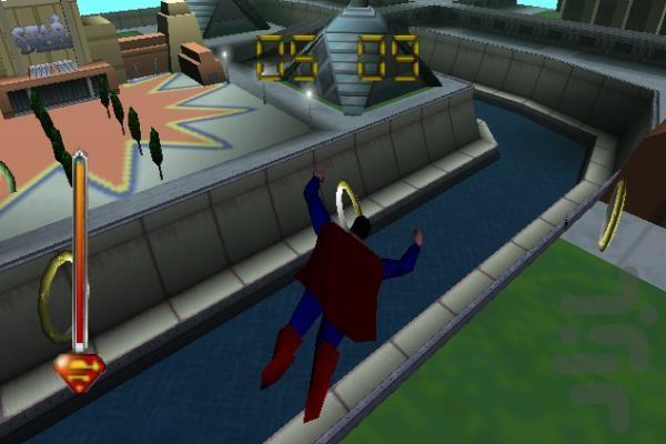 سوپرمن - عکس بازی موبایلی اندروید