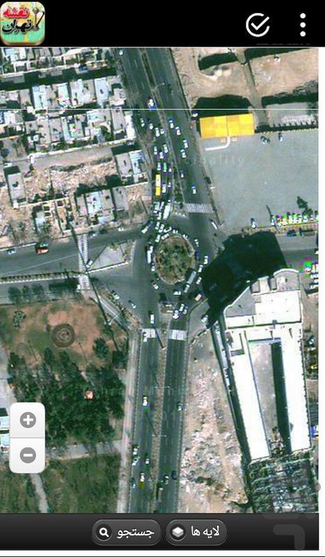 map tehran - Image screenshot of android app