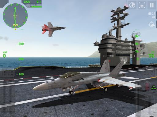 F18 Carrier Landing Lite - عکس بازی موبایلی اندروید