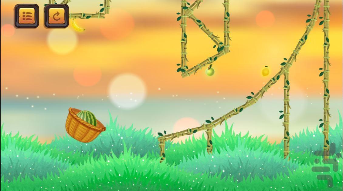 پرتاب هندونه - عکس بازی موبایلی اندروید