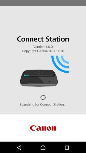 Canon Connect Station - عکس برنامه موبایلی اندروید