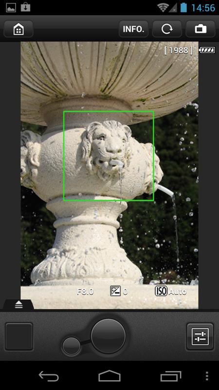 EOS Remote - عکس برنامه موبایلی اندروید