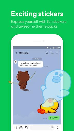 LINE – مسنجر لاین - عکس برنامه موبایلی اندروید