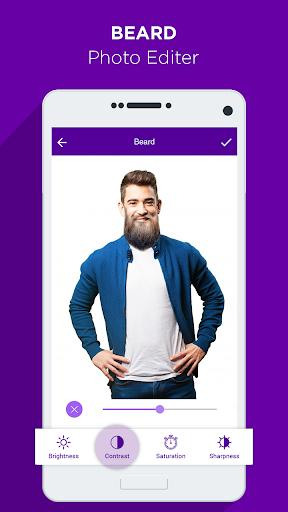 Beard Photo Editor - عکس برنامه موبایلی اندروید