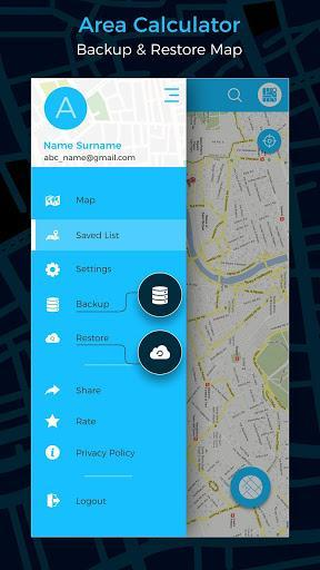 Gps Area Calculator - عکس برنامه موبایلی اندروید