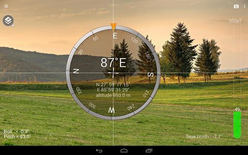 Smart Compass - عکس برنامه موبایلی اندروید