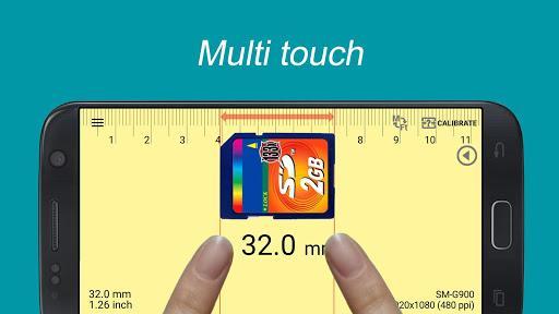 Smart Ruler - Image screenshot of android app