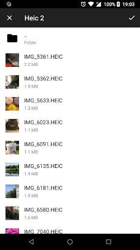 Luma: heic to jpg converter and viewer offline - عکس برنامه موبایلی اندروید