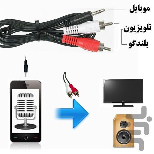 میکروفون همراه - عکس برنامه موبایلی اندروید