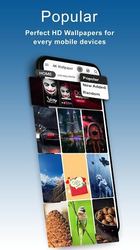 4K Wallpapers – تصاویر پس زمینهی گوشی - عکس برنامه موبایلی اندروید