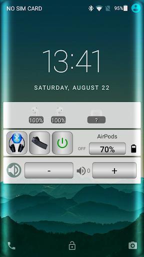 Bluetooth Audio Widget Battery FREE - عکس برنامه موبایلی اندروید